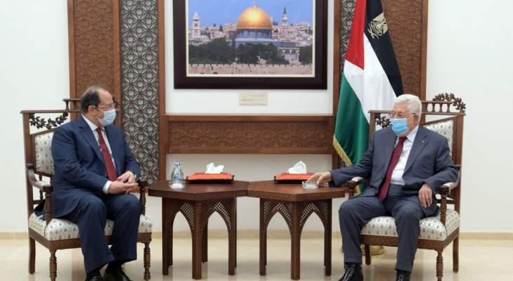 رئيس فلسطين بحث مع مدير المخابرات المصرية بالتهدئة الشاملة وإعادة إعمار غزة