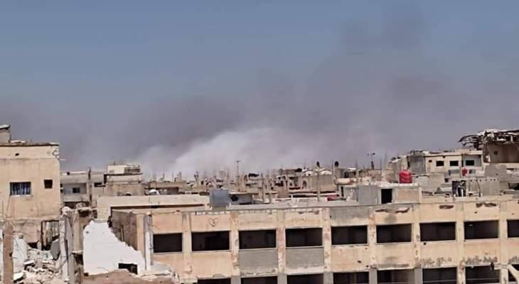 المرصد السوري: قصف غير مسبوق على أحياء درعا البلد وسط معارك عنيفة تدور بمحاور المنطقة