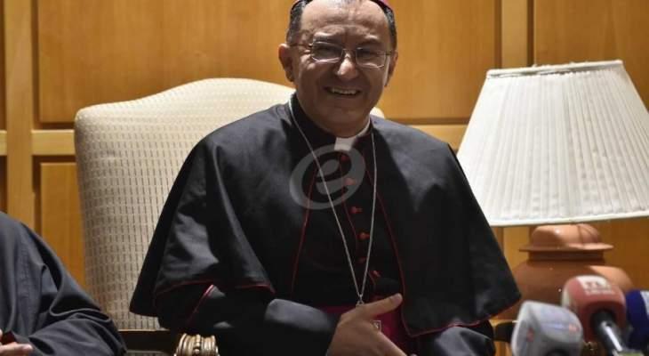 السفير البابوي بات ليلته في دير دون بوسكو للراهبات الساليزيان في الحدث