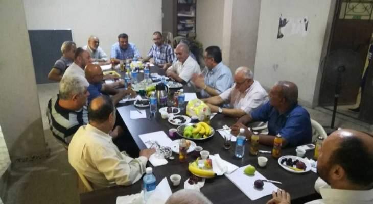 تحالف القوى الفلسطينية: لضرورة تفعيل الجهود لاستكمال إعمار نهر البارد