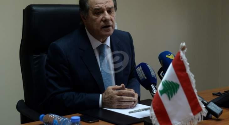 قزي: الخلاف الاساسي بين اللبنانيين ليس على وزارة بل على السياستين الخارجية والدفاعية