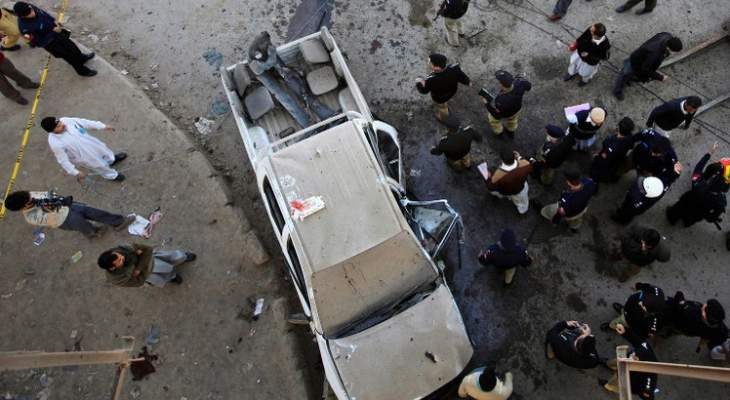 مقتل 10 أشخاص في تفجير انتحاري بمدينة كويتا غرب باكستان