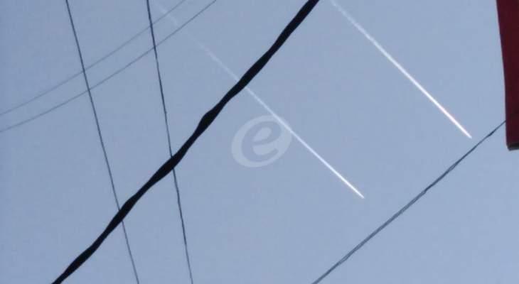 النشرة: الطيران الاسرائيلي خرق الأجواء اللبنانية من فوق مزارع شبعا
