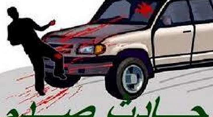 النشرة: اصابة امرأة اثر حادث صدم في منطقة فرن الشباك