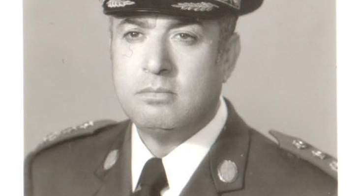 قيادة الجيش نعت العميد الركن المتقاعد فهمي حمدان