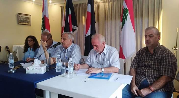 سعد: من يتطاول على الحزب القومي وقياداته يقدّم الخدمات لأعداء الحزب ولبنان والأمة