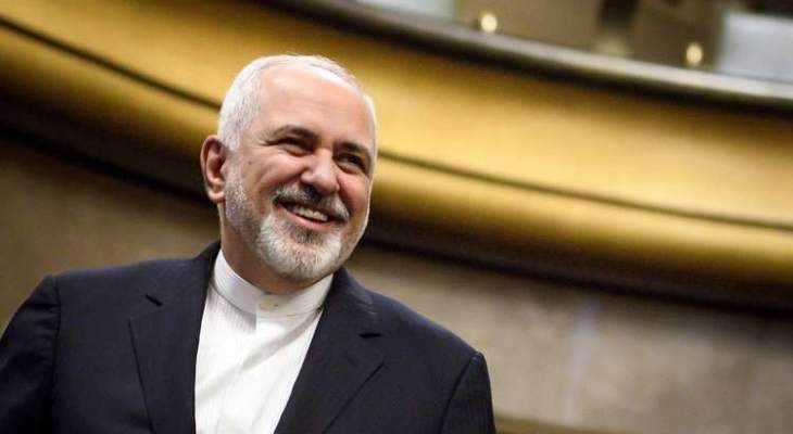 وصول وزير الخارجية الايراني محمد جواد ظريف الى بيروت