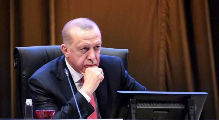 أردوغان: نريد وقف الهجمات ضد المسجد الأقصى والمسلمين فورا