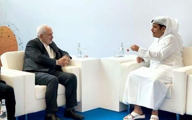 وزيرا خارجية إيران وقطر بحثا بالعلاقات الثنائية وآخر التطورات في المنطقة