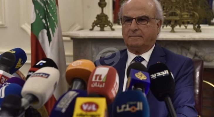رئيس المجلس الدستوري يؤكد ان جميع الوزراء صرحوا عن أموالهم كما ينص عليه القانون
