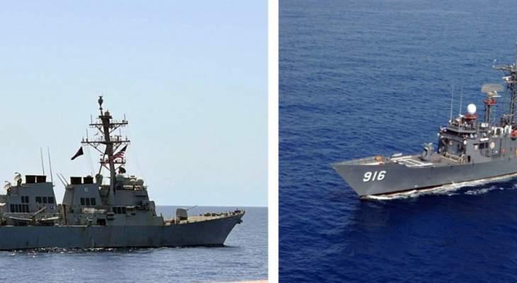 القوات البحرية المصرية والأميركية نفذتا تدريبا بحريا عابرا في البحر الأحمر