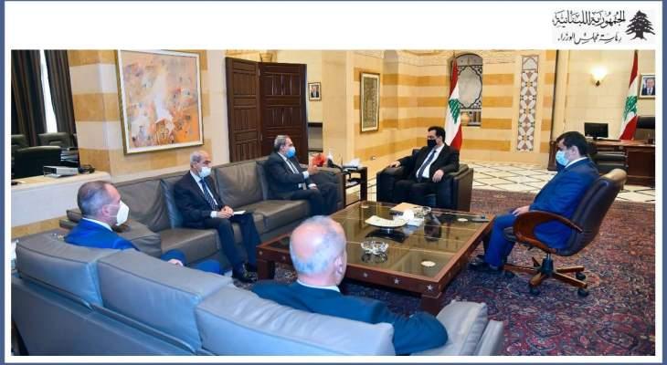 دياب مع وزير البيئة المصري السابق مشاريع بيئية وإنمائية بلبنان