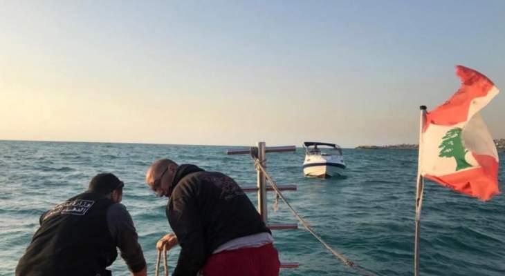 الدفاع المدني: سحب زورق سياحي معطل من خلدة إلى ميناء الجية- الشوف
