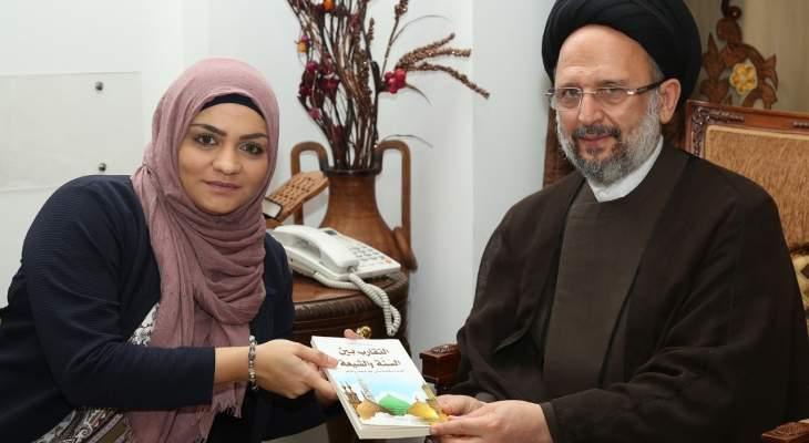 فضل الله: الكثير من المشاكل والخلافات بين السنة والشيعة سببها التباعد