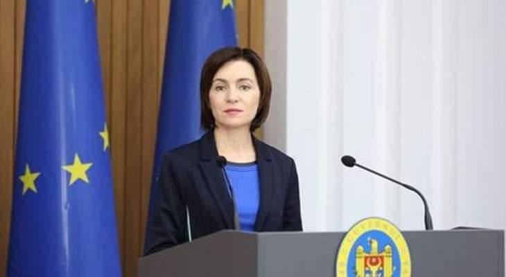 فوز مايا ساندو بانتخابات الرئاسة في مولدوفا