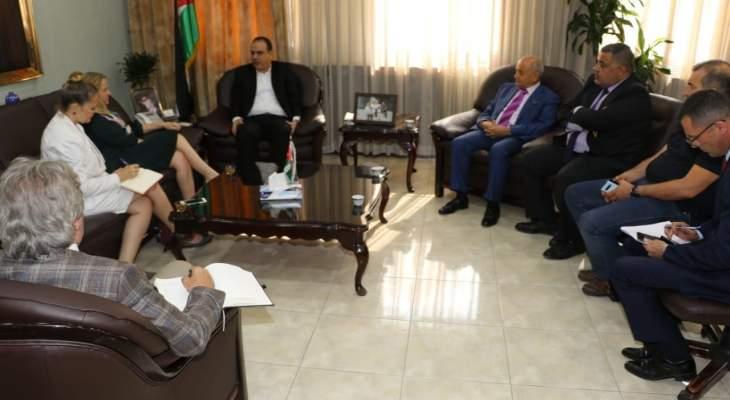 ترشيشي: اتفقنا مع وزير الزراعة بالأردن على السماح بالتصدير إلى الأسواق الأردنية الداخلية