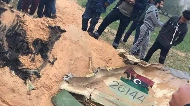 قوات حكومة الوفاق الليبية أعلنت إسقاط طائرة حربية لقوات حفتر والقبض على الطيار