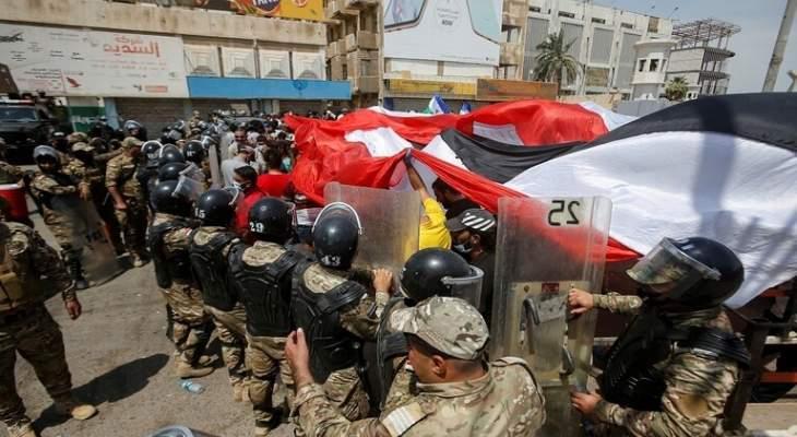 الداخلية العراقية: فتح  تحقق بمقتل متظاهر وإصابة 40 آخرين في البصرة