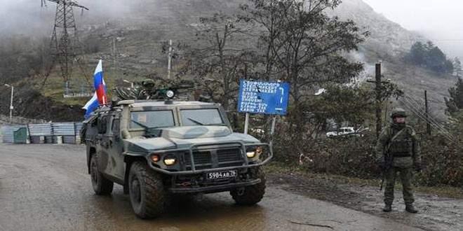إصابة جنديين من قوات حفظ السلام الروسية في قرة باغ