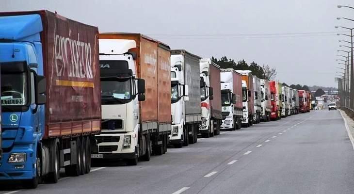 الأناضول: 45 شاحنة أممية محملة بمساعدات إنسانية عبرت تركيا باتجاه إدلب
