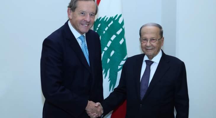 المبعوث التجاري البريطاني للبنان: البلد يتمتع بإمكانات تجارية واقتصادية كبيرة