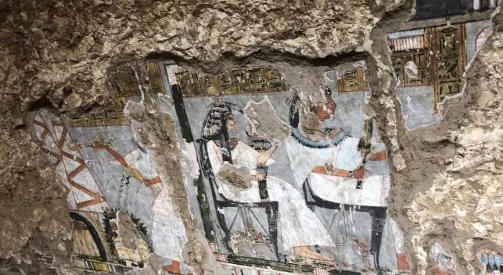 افتتاح مقبرتين فرعونيتين في الأقصر