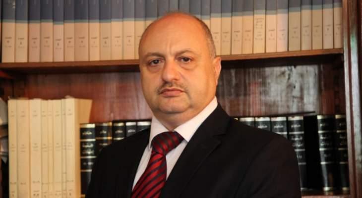 زخور للقاضي عبود: لوقف العمل باللجان لسقوط المهل الواردة في قانون الايجارات