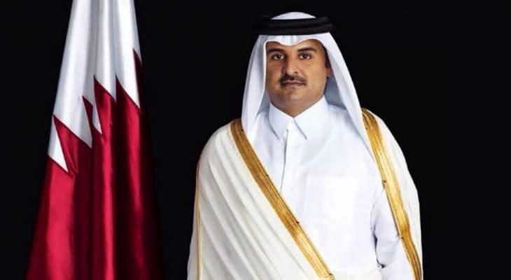 أمير قطر عزى ملك السعودية وولي العهد بوفاة الأمير عبدالرحمن بن عبدالعزيز