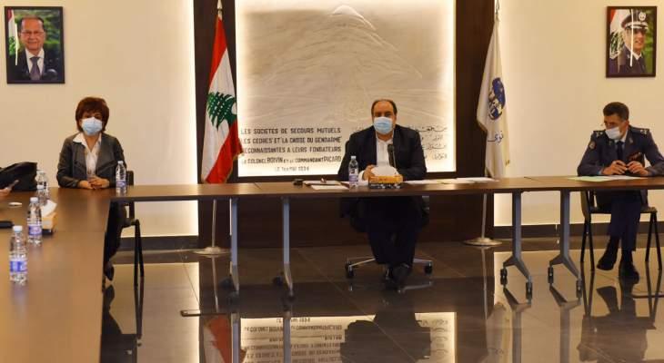 لجنة طوارىء السجون أوصت بمتابعة التحضيرات لتلقيح السجناء والكادر الامين والطبي
