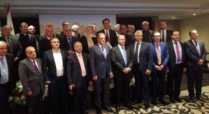 اللقيس: لبنان ليس لقمة سائغة يستطيع أي كان ابتلاعها ونريد حياة كريمة بعصمة الجيش والشعب والمقاومة