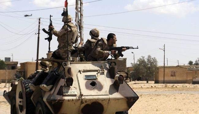 """تنظيم """"داعش"""" تبنى الهجوم المسلح على نقطة أمنية في العريش بسيناء"""
