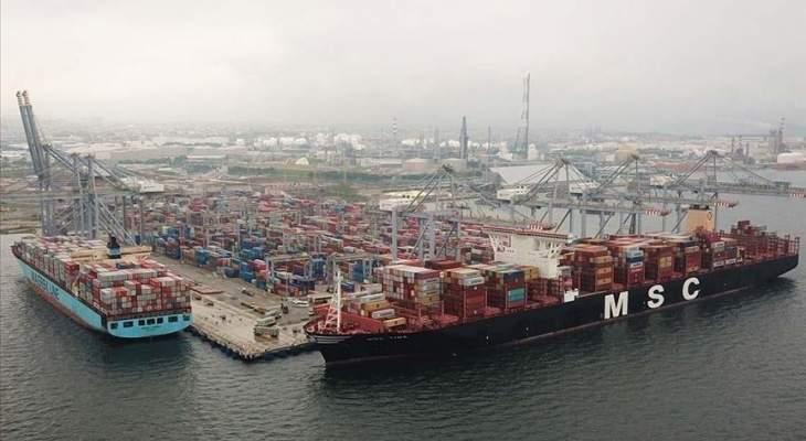 """بلومبرغ: ميناء """"جبل علي"""" يستأنف نشاطه بعد انفجار الليلة الماضية"""