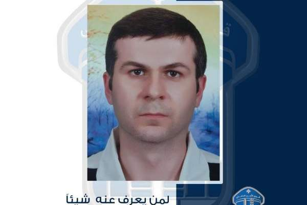 قوى الأمن تعمم صورة المفقود ماهر رياض سنّو الذي غادر منزله بسليم سلام