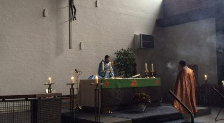 الجالية اللبنانية في هولندا اقامت قداسا لراحة نفس الياس سكاف
