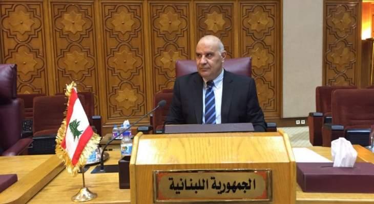 فلحة: الدول العربية كافة تواجه تحديات مصيرية لا مثيل لها