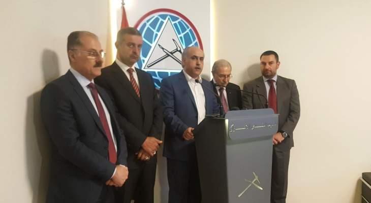 أبو الحسن: لإلغاء الطائفية السياسية والخروج بقانون إنتخابي عصري ومتطور
