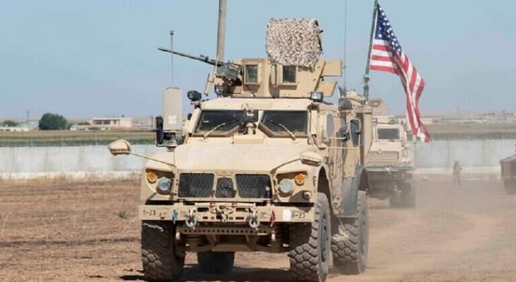 """""""سانا"""": دخول رتل أميركي بمعدات وأسلحة إلى ريف الحسكة"""