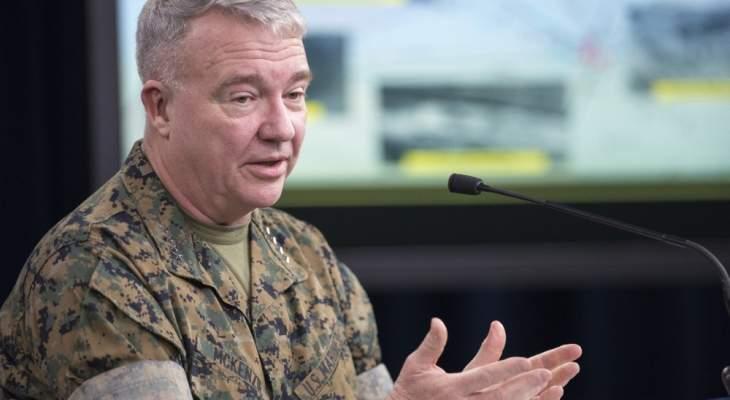 """جنرال أميركي: لدي شكوك عميقة بالتعويل على """"طالبان"""" كشريك بمفاوضات السلام الأفغانية"""