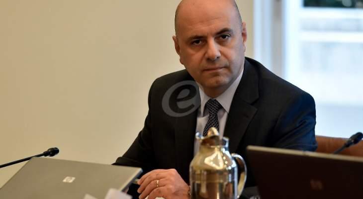 حاصباني: استقالة الحكومة تمهد لوضع حلول مع غطاء سياسي من كافة القوى