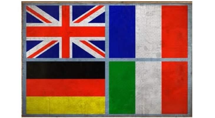 سلطات المانيا وإيطاليا وفرنسا بريطانيا ترحب بقرارات منتدى حوار ليبيا