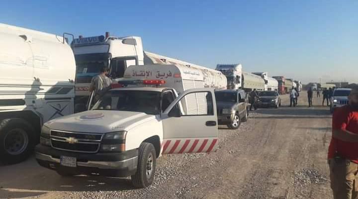 النشرة: وصول صهاريج المازوت الإيراني الى منطقة حوش السيد علي بالهرمل