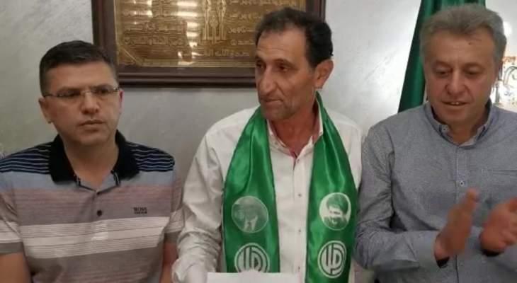 محمد صباح أعلن عن عودته عن الاستقالة من بلدية النبطية