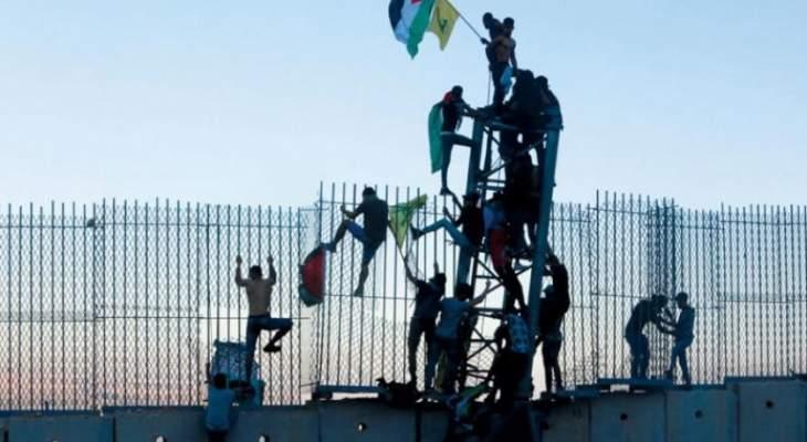 الشرق الاوسط: حزب الله يكاد يكون المشغّل الأول للتحرّكات الشعبية الوافدة إلى المنطقة الحدودية
