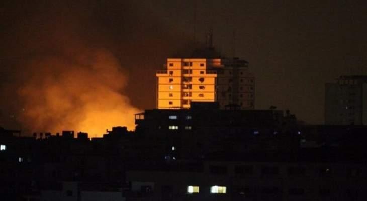 الجيش الإسرائيلي نفذ غارات جوية على غزة رداً على إطلاق صاروخ من القطاع