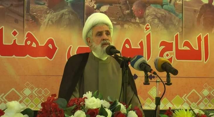 قاسم: حزب الله ليس من أسباب الأزمة ولا نسعى لتغيير المعادلات الرئاسية والحكومية
