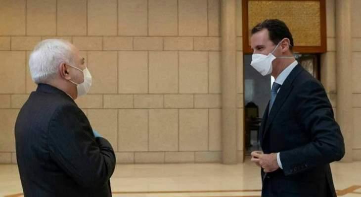 ظريف: سنفتح القنصلية الإيرانية بحلب ومستعدون للإشراف على الانتخابات الرئاسية السورية