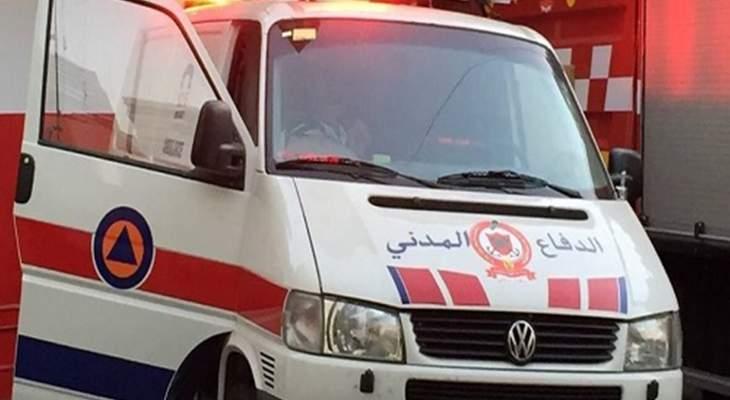 الدفاع المدني: انتشال جثة رجل مقابل شاطئ البداوي في طرابلس