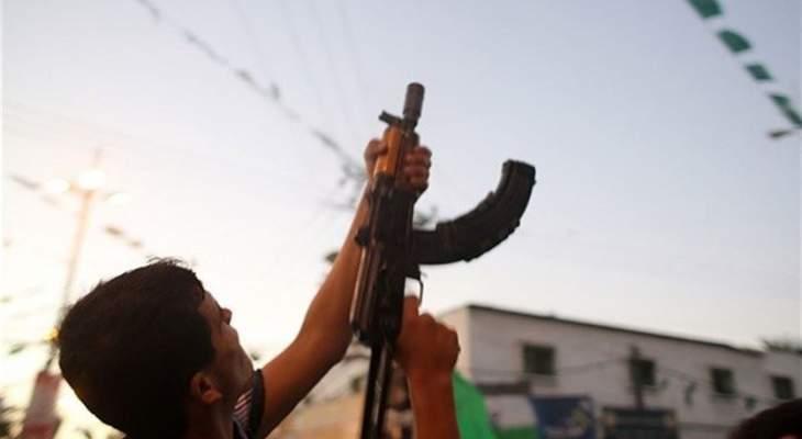 النشرة: إطلاق نار كثيف في مخيم الرشيدية بصور احتجاجا على اتهام فلسطيني بحرق سيارة
