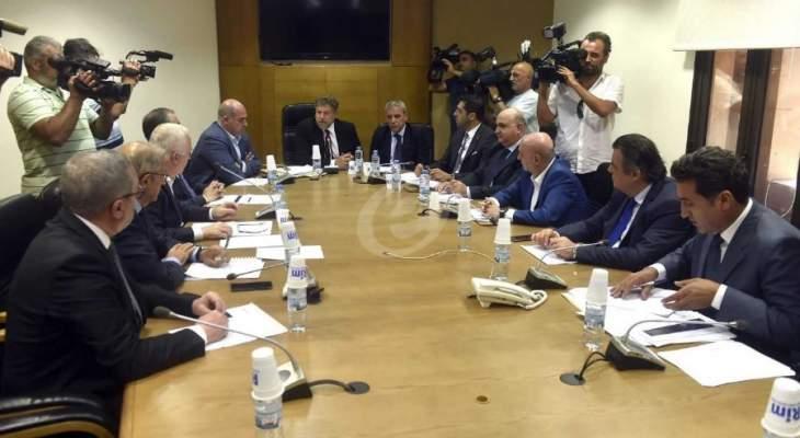 لجنة الاقتصاد ناقشت الامور الاقتصادية المستجدة على ضوء اقرار الموازنة العامة