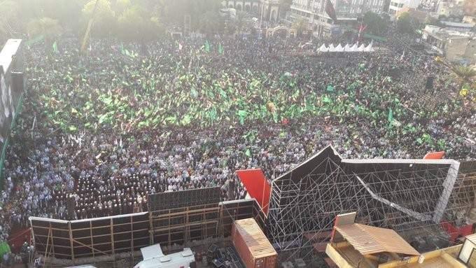 حركة امل تشكر الذين شاركوا بمهرجان الوفاء للامام الصدر ورفيقيه بالنبطية